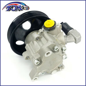 New Power Steering Pump For Mercedes-Benz E350 E550 Ml500 R500 With Pulley