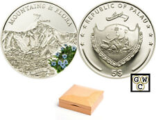 2010 Palau $5 Sterling Silver Mount Everest Coin (12761)