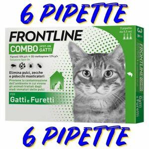 FRONTLINE COMBO GATTO -6 FIALE - SCADENZA 2023 ***OFFERTA***