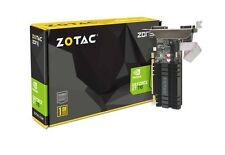 ZOTAC GeForce GT 710 1GB DDR3 PCI-E2.0 DL-DVI VGA HDMI ZONE Edtion Graphic Card
