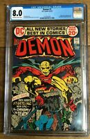 Demon #1 Origin and 1st App of the Demon (Etrigan) and Randu. CGC 8.0