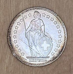 ERROR **RIM CLIP** Switzerland 1947-B Franc GEM toned BU