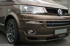 Apron For VW T5 09-15 Caravelle Multivan Front Bumper spoiler lip Valance