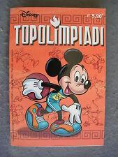 TUTTO DISNEY #  30 - TOPOLIMPIADI- AGOSTO 2004 - OTTIMO-TUTTODISNEY-WD2
