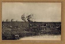 Cpa Somme Dompierre - Eclatement d'obus allemands sur la région conquise tp0608