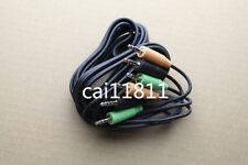 Logitech X540 5500 Speakers Color Coded 3 Minijack Audio Cable Control Pod 3.5mm