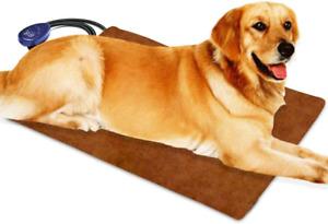 Pet Heating Pad For Cats Dogs Electric Berocia Adjustable Temperature Waterproof