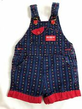 Baby Osh Kosh B'Gosh 9Y1053 Denim Bib Overalls  6 - 9 months Bed Blue Shorts