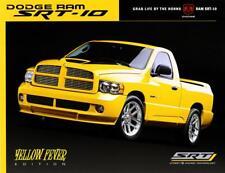 Print.  2005 Dodge Ram SRT-10 Yellow Fever Advertisement