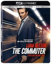Commuter 4K UHD 02/18 4K (used) Blu-ray Only Disc Please Read