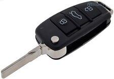 AUDI A3 A4 A6 A8 TT Q3 Q5 Q7 3 Botones Control Remoto Clave Fob caso Shell