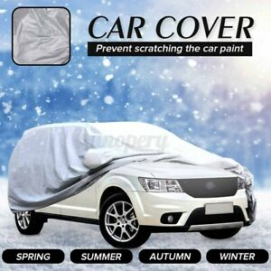 Full Car SUV Van Cover Waterproof Outdoor Sun UV Ray Snow Dust Rain Protector