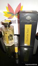 L'Artisan Parfumeur Tea for two - 10ml sample / 100% genuine... FAST DISPATCH!