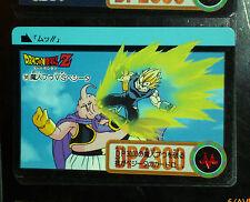 DRAGON BALL Z GT DBZ HONDAN PART 20 CARDDASS DP CARD REG CARTE 141 JAPAN 1994 NM
