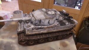 Taigen 1/16  RC German Tiger 1 early/late  Tank custom paint