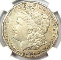 1904-S Morgan Silver Dollar $1 Coin - Certified NGC XF45 (EF45) - Rare Date Coin