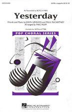Yesterday (Boyz II Men) Pop Choral Series TTBB a cappella