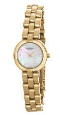 Raymond Weil Allegro 18k Gold Plated Mop Diamond Dial Mini Watch 5817