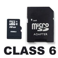 16GB OEM Class 6 Micro SD SDHC MicroSD Memory Card