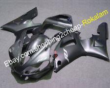 For Yamaha R1 YZF1000R1 YZF R1 00 01 YZF1000 R1 YZF-R1 YZF R1 Gray ABS Fairings