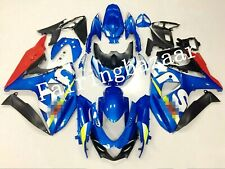 Fit for GSXR1000 2009-2016 Blue Red ABS Plastic Injection Bodywork Fairing Kit