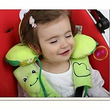 New ListingInchant Baby Toddlers Head Neck Support Headrest and Safety Belt Cover Strap - C