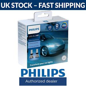 Philips Ultinon Essential LED 6500K H7 Car Headlight Bulbs (Twin) 11972UE2X2