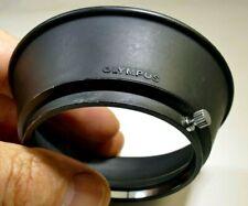 Olympus OM Lens 55mm threaded Rubber Hood shade Zuiko 35-105mm f3.5-4.5 manual