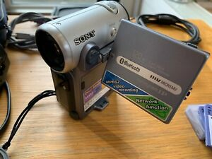 Sony DCR-IP7E Micro MV Handycam + Instructions and Accessories Camcorder