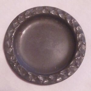 Vintage PERLETINN Pewter Trinket Pin Dish Norway 93% Collectable PATT No 87049