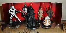 Disney Star Wars Force Awakens Ornaments 6pc Figure Set Kylo Ren BB-8 Phasma Rey