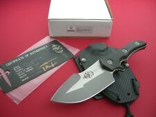 MARFIONE KNIFE / APEX / 2 TONE APOCALYPTIC - ELMAX / CARBON FIBER / BOX & C.O.A.