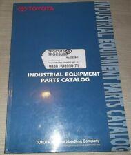 Toyota 7fgcu15 7fgcu18 7fgcsu20 Lift Truck Forklift Parts Manual Book Catalog