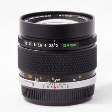 Olympus OM Zuiko 24mm f/2 (2.0 / 24) Lens
