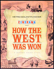 HOW THE WEST WAS WON 1962 Henry Fonda, Gregory Peck UK BROCHURE