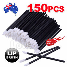 150PCS Disposable Lipbrush Lip Gloss Wands Lipstick Applicator Cosmetics Tool