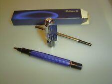PELIKAN R605 Rollerball, blau gestreift