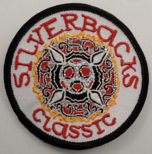 Martial Arts Embroidered Sew On Uniform Patch Silverbacks Classic