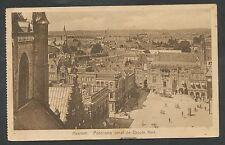 Haarlem  Panorama vanaf de Groote Kerk
