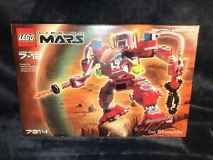 Lego Life On Mars Recon-Mech RP 7314 Sealed-NOS