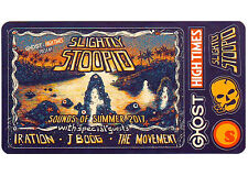 SLIGHTLY STOOPID Sounds Of Summer 2017 Tour Ltd Ed RARE 6 Sticker Lot! IRATION