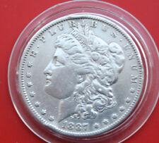 USA-Amerika: 1 Morgan Dollar 1887-O Silver, KM# 110, #F1822