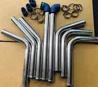 "2"" universal intercooler piping kit for NISSAN NAVARA PATROL TURBO DIESEL TD42"