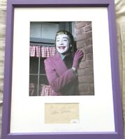 Cesar Romero autographed signed autograph matted & framed w Joker 8x10 photo JSA