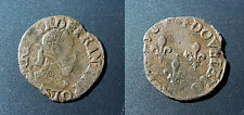 Henri III - double tournois S, Troyes