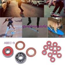 Pack of 10 Skateboard Scooter Ball Roller Blade Ball Bearings Wheels Abec-9 Q