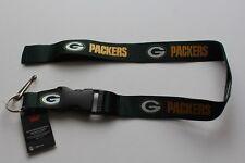 Green Bay Packers NFL Football Lanyard Schlüsselband Schlüsselanhänger Green