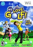 We Love Golf - Nintendo  Wii Game