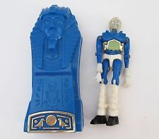 Vintage Mego Micronauts Blue Pharoid in Time Chamber Sarcophagus 1977