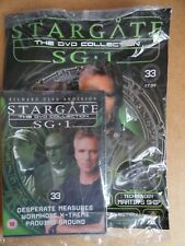 DVD COLLECTION STARGATE SG 1 PART 33 + MAGAZINE - NEW SEALED IN ORIGINAL WRAPPER